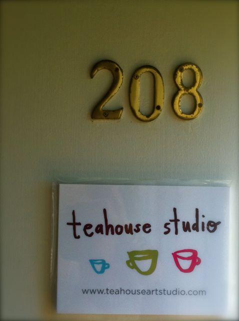 Teahouse door