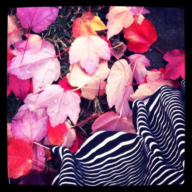 Fall leaves skirt
